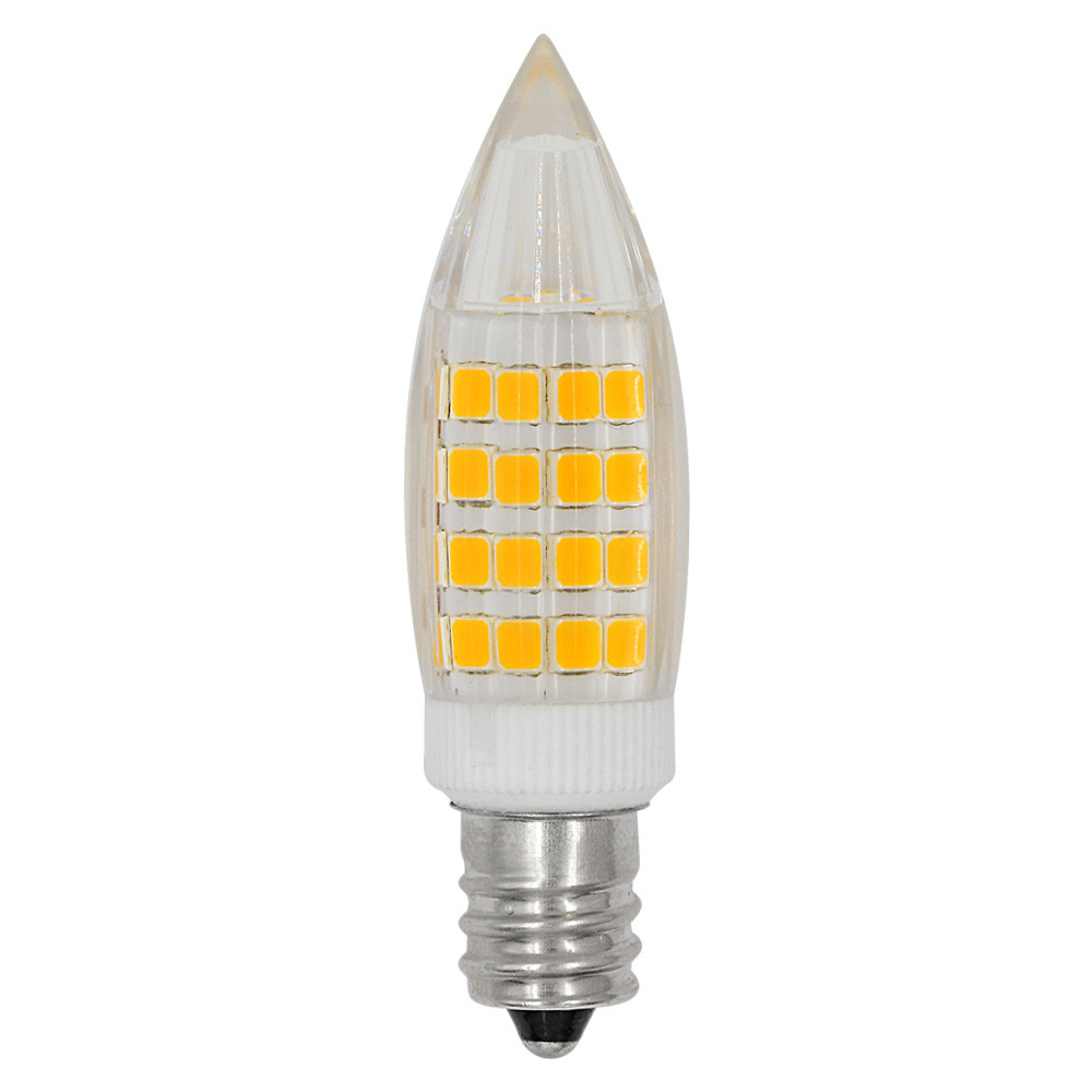 MENGS® E12 5W LED Light 51x 2835 SMD LED Bulb Lamp In Warm White Energy-Saving Light