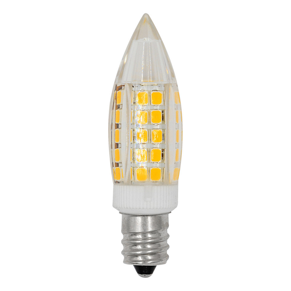 MENGS® E12 6W LED Light 64x 2835 SMD LED Bulb Lamp In Warm White Energy-Saving Light
