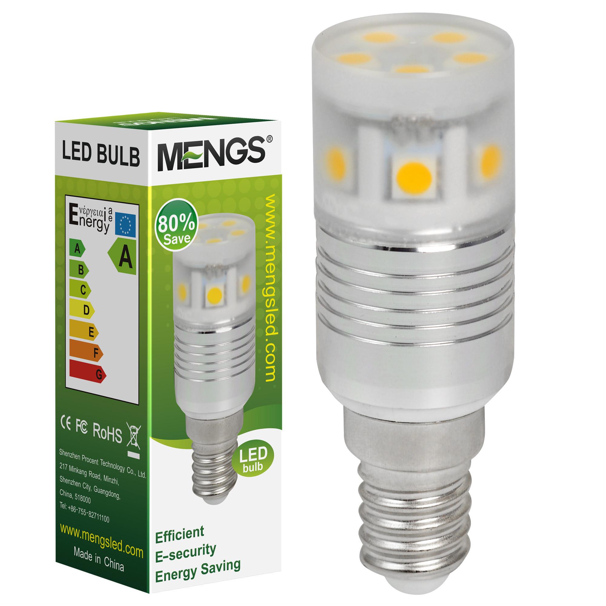 MENGS® E14 2.5W LED Corn Light 11x 5050 SMD LEDs LED Lamp Bulb In Cool White Energy-Saving Lamp