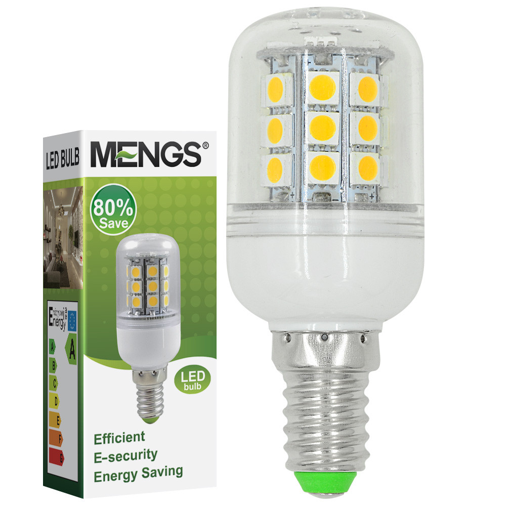 MENGS®  E14 5W Corn Light LED Bulb 30x 5050 SMD LEDS In Cool White Energy-Saving Lamp