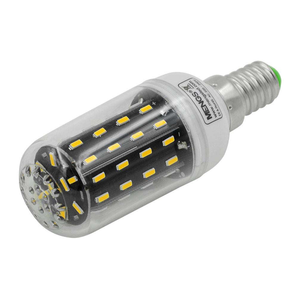 MENGS® E14 7W LED Corn Light 56x 4014 SMD LED Lamp Bulb In Cool White Energy-Saving Light