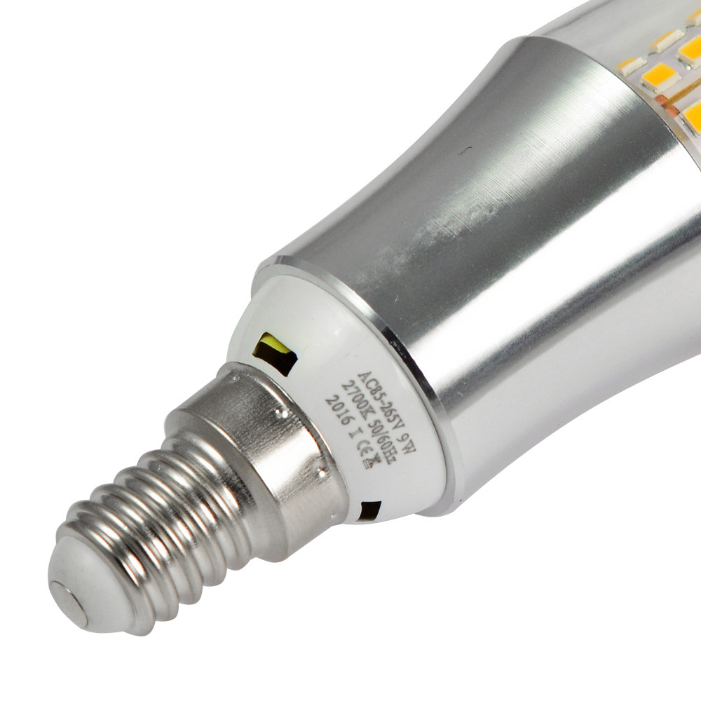 e14 9w led blunt tip candle light 45x 2835 smd led bulb lamp in warm white energy saving light. Black Bedroom Furniture Sets. Home Design Ideas