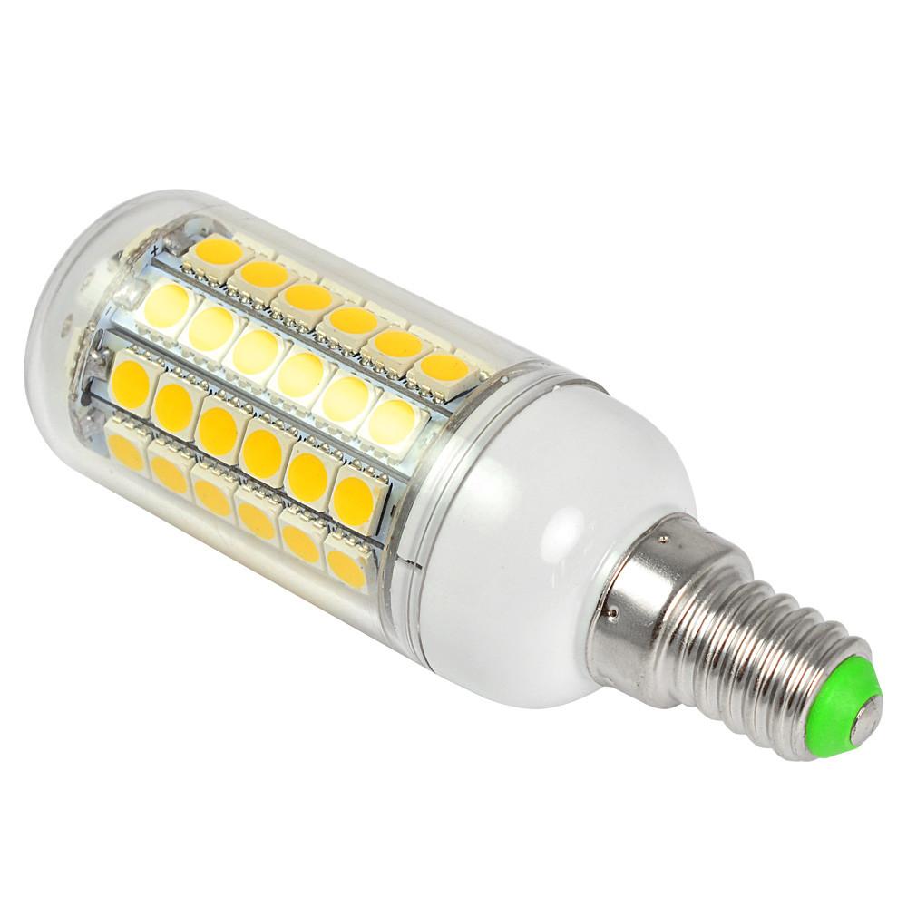 10pcs e14 9w led corn light 69x 5050 smd leds led bulb in warm white energy saving lamp led. Black Bedroom Furniture Sets. Home Design Ideas