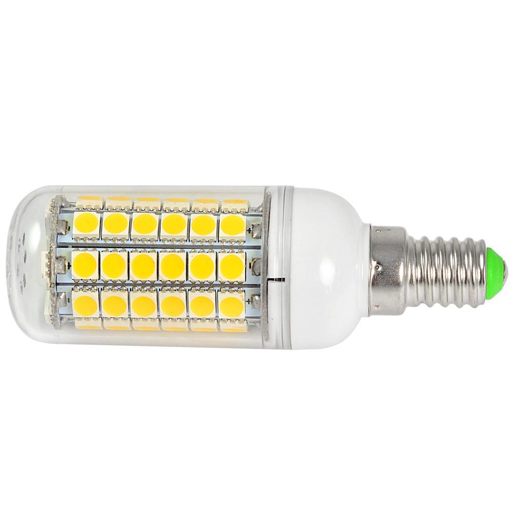 e14 9w led corn light 69x 5050 smd leds led bulb in warm white energy saving lamp led lights. Black Bedroom Furniture Sets. Home Design Ideas