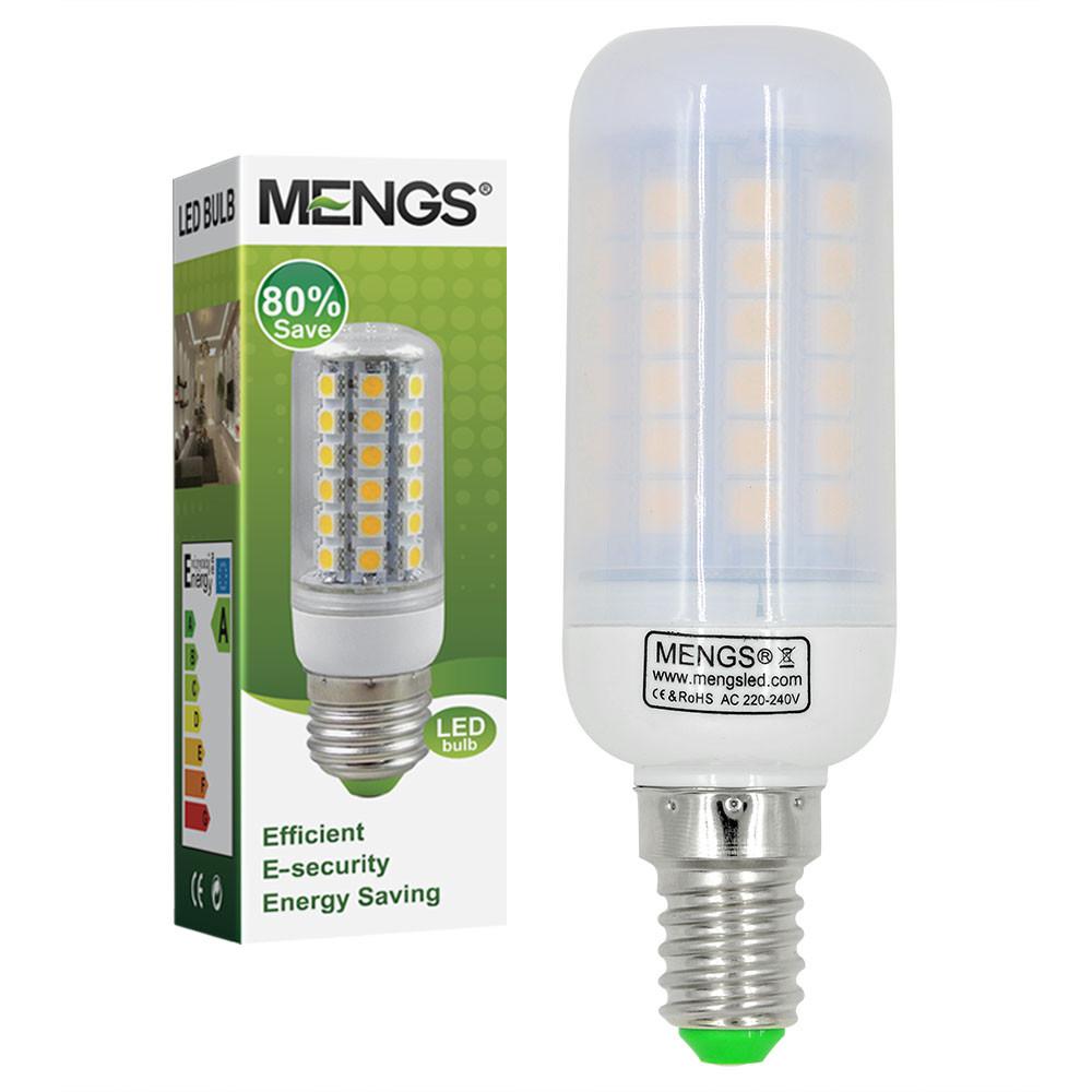MENGS® E14 9W LED Corn Light 69x 5050 SMD LED Lamp Bulb in Cool White Energy-Saving Light