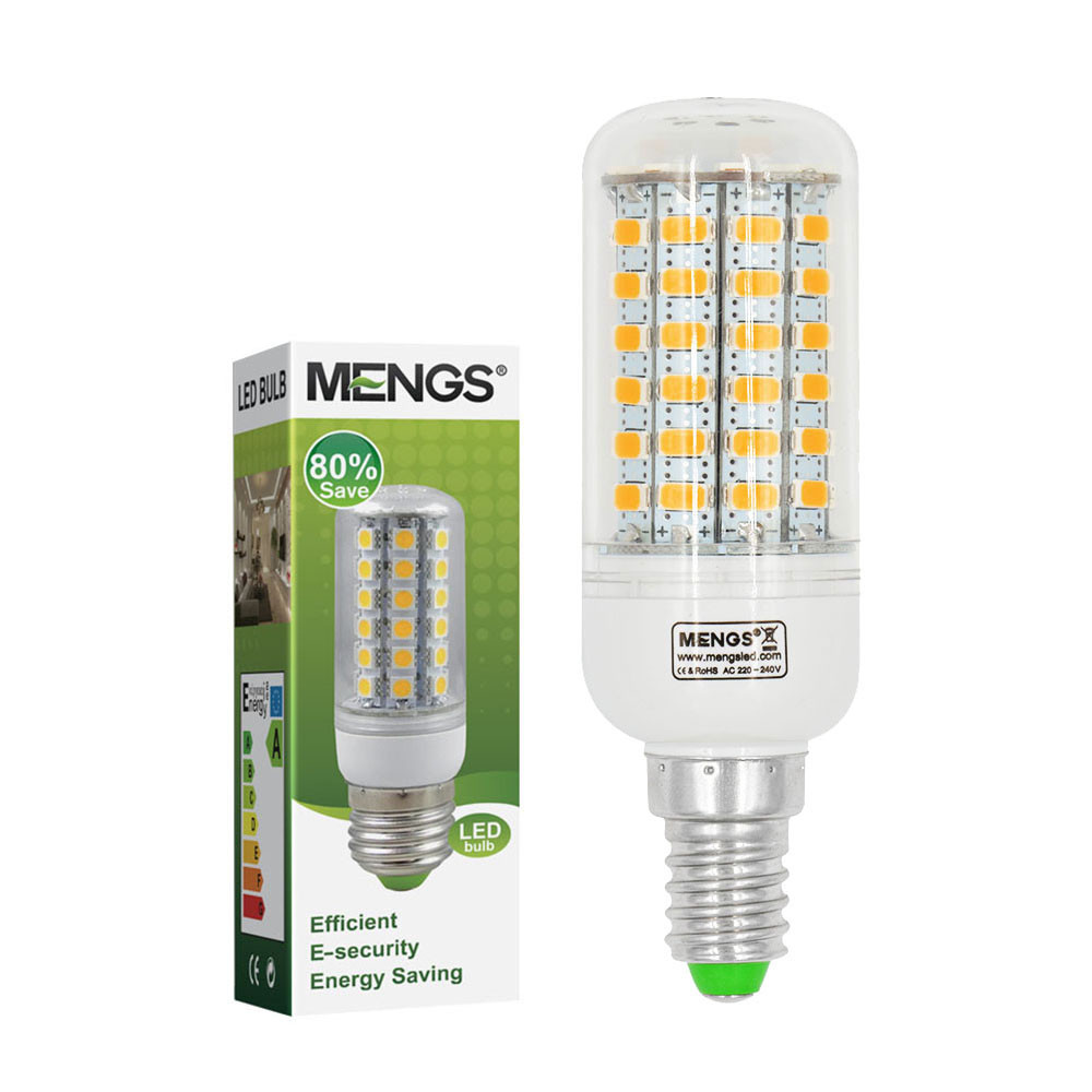 MENGS® E14 9W LED Corn Light 69x 5730 SMD LEDs LED Bulb Lamp In Warm White Energy-Saving Lamp