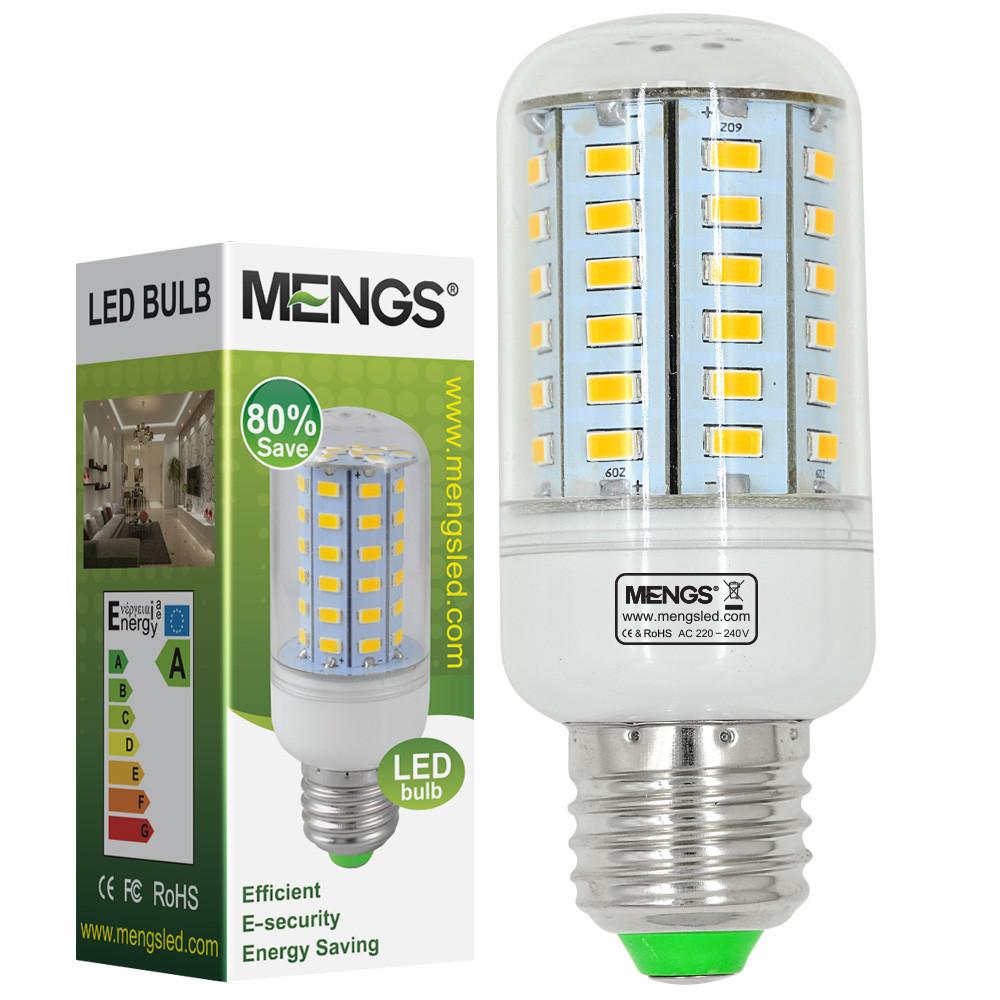 MENGS® E27 10W LED Corn Light 60x 5730 SMD LEDs LED Bulb Lamp in Cool White Energy-saving Lamp