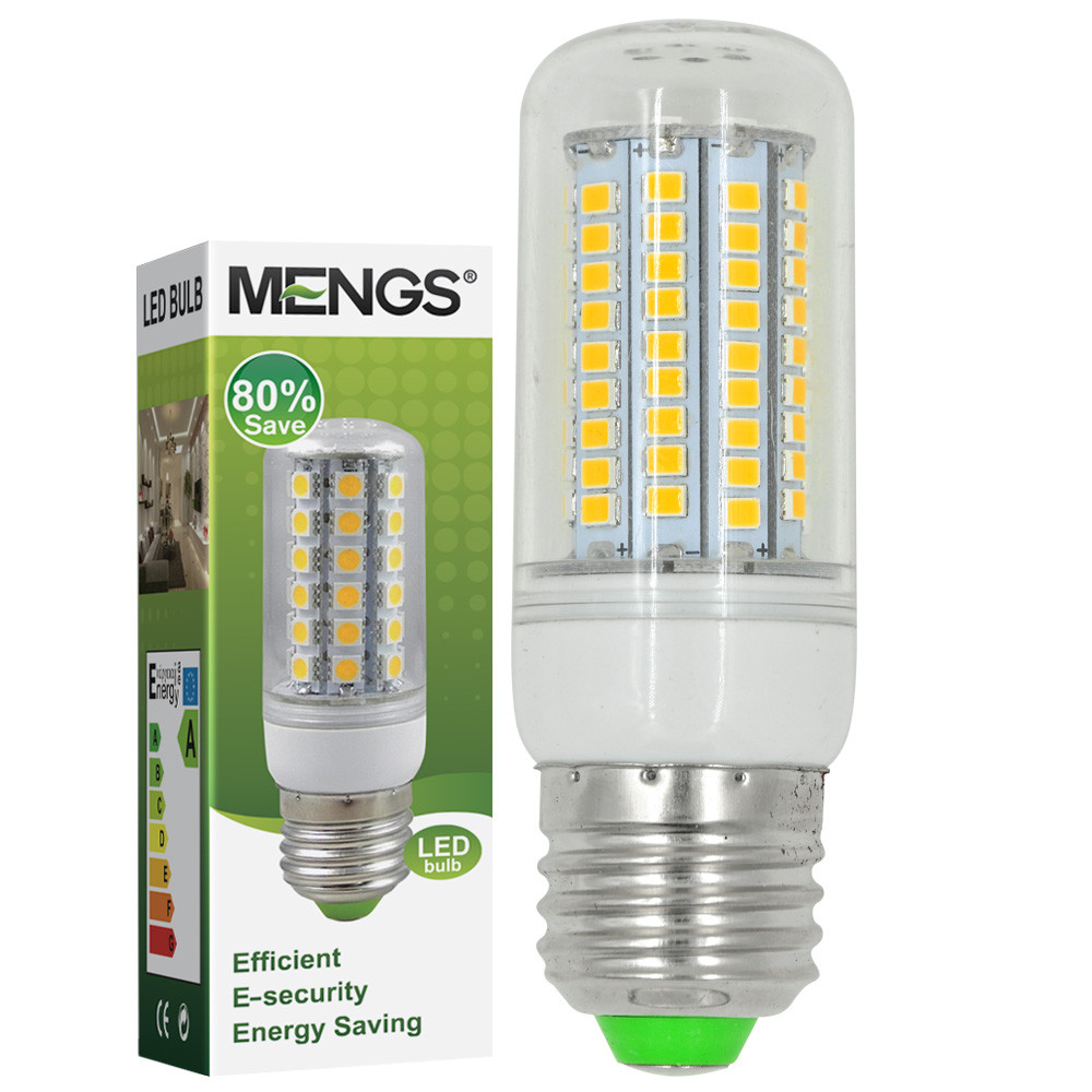 MENGS®  E27 7W LED Corn Light 102x 2835 SMD LEDs LED Bulb in Warm White Energy-Saving Lamp
