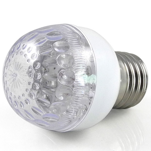 MENGS® E27 1W LED RGB Light 17 SMD LEDs LED Globe lamp Bulb AC 100V - 240V 50Hz-60Hz Good For Decoration