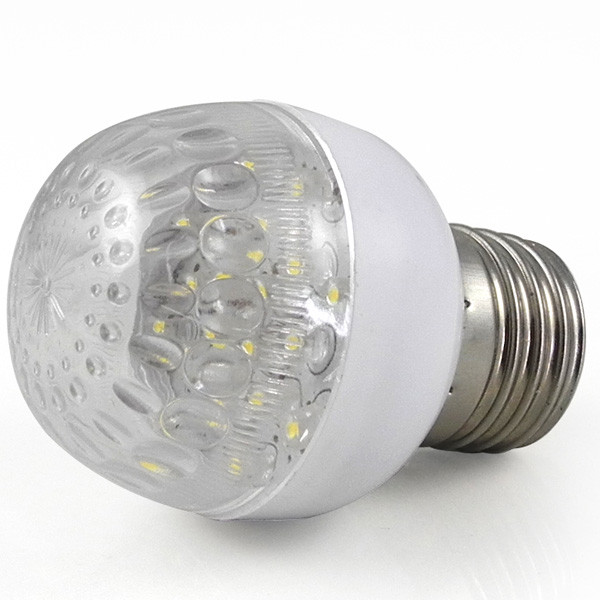 MENGS® E27 1W LED Light 20 SMD LEDs LED Globe lamp Bulb AC 100V - 240V 50Hz-60Hz Good For Decoration - White