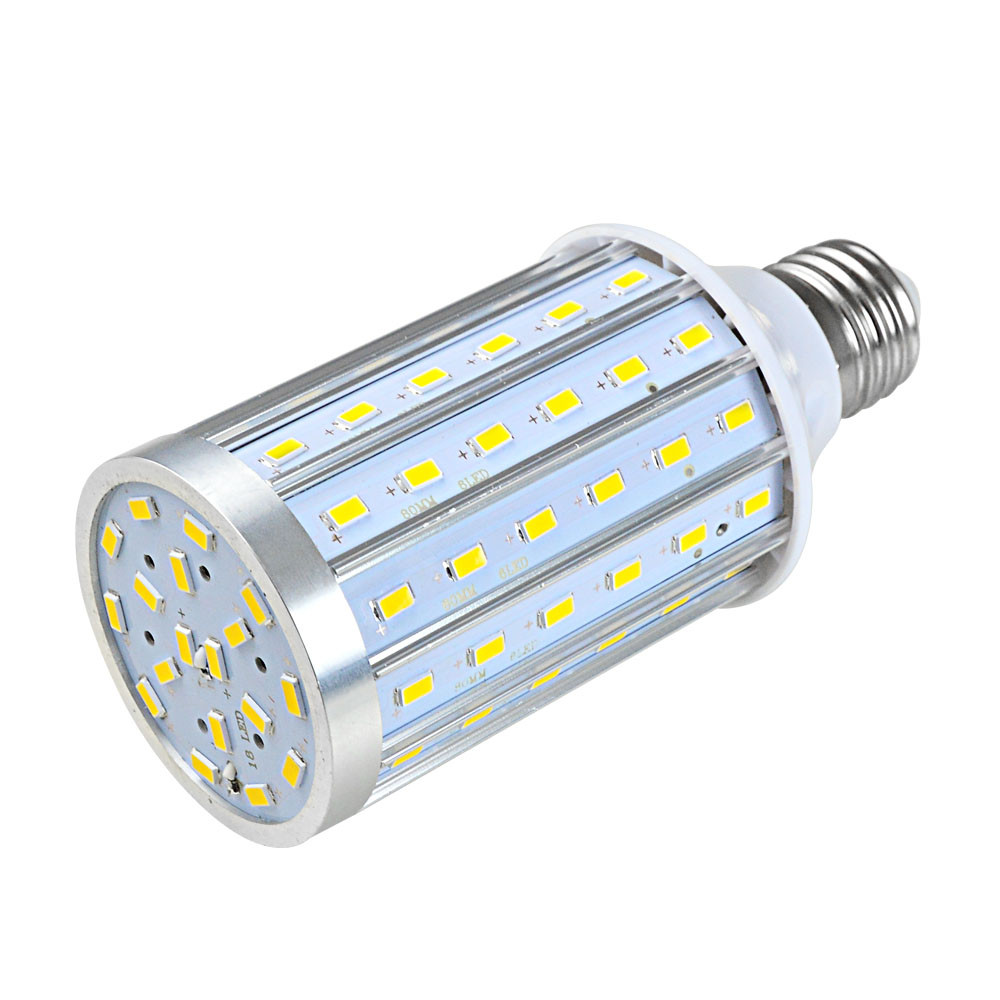 MENGS® E27 25W LED Dimmable Corn Light 90x 5730 SMD LED Bulb Lamp With Aluminum Plate In Cool White Energy-Saving Light