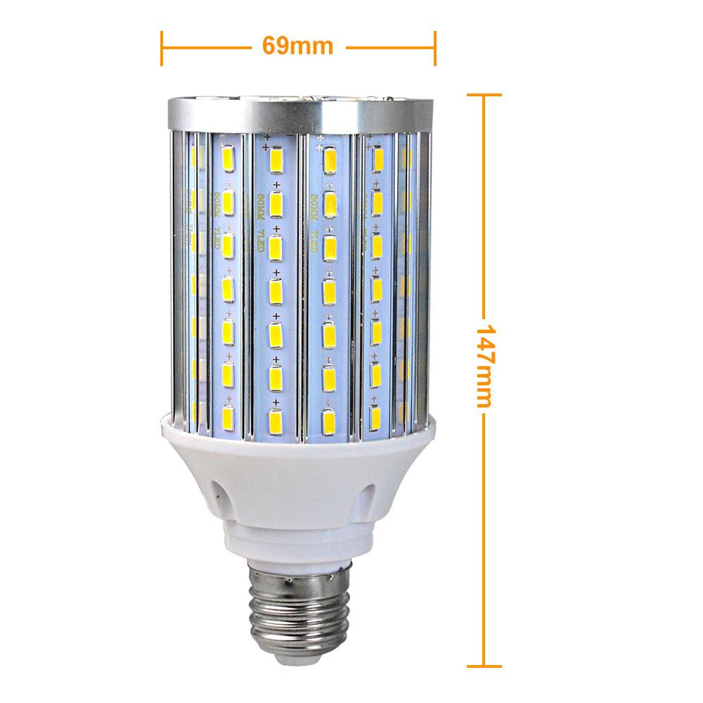 E27 30W LED Corn Light 112x 5730 SMD LED Bulb Lamp With ...