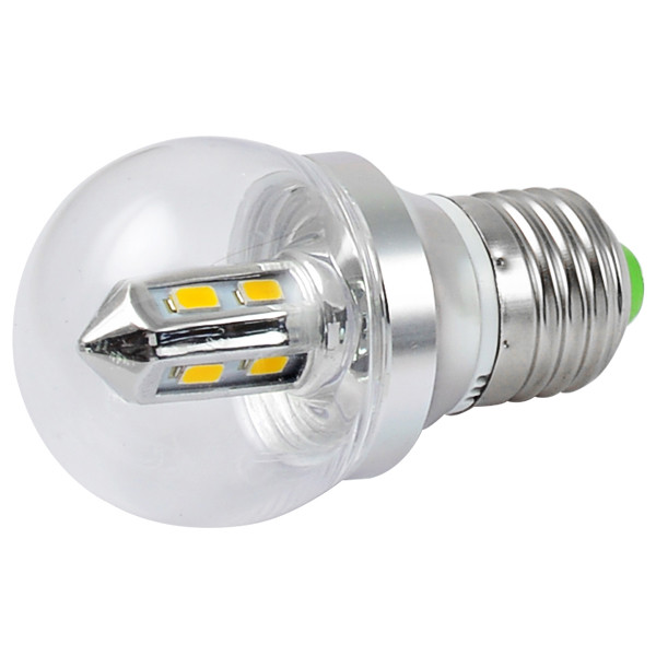 MENGS® E27 4W LED Globe Light 8x 5730 SMD LEDs LED Lamp Bulb AC 85 - 265V in Cool White Energy-saving lamp