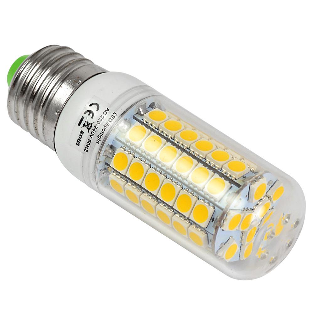 e27 9w led corn light 69x 5050 smd leds led bulb ac 10 30v in cool white energy saving lamp. Black Bedroom Furniture Sets. Home Design Ideas