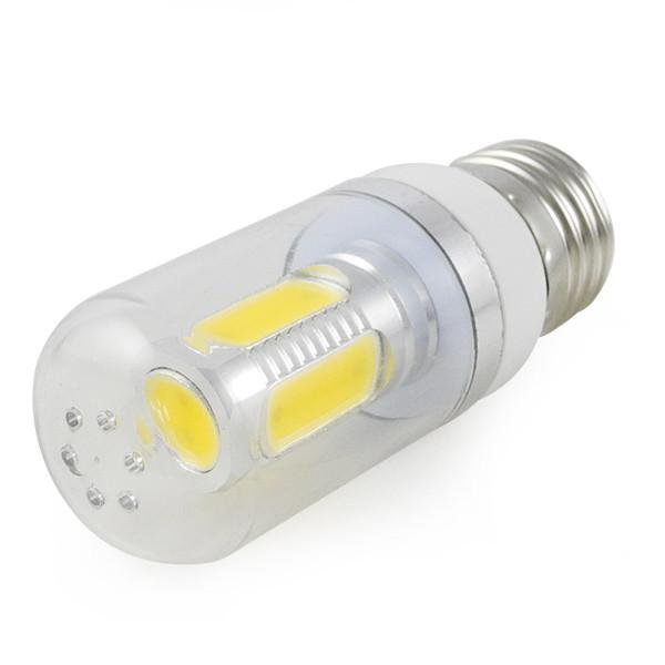 MENGS® E27 7.5W LED Corn Light 5 COB LEDs LED Lamp in Warm White Energy-Saving Lamp