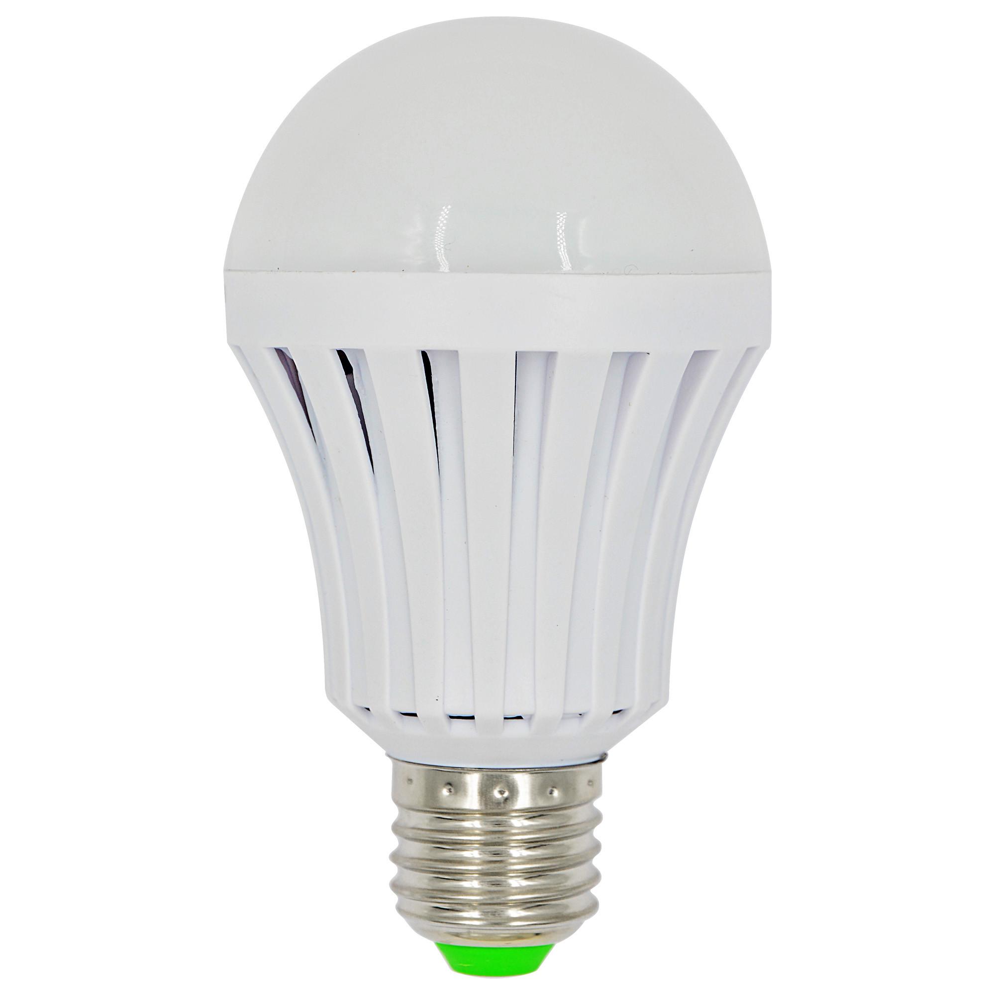 MENGS® Anti-Strobe E27 7W LED Emergency Light 14x 5730 SMD LED Lamp Bulb AC 85-265V In Warm White Energy-saving Light