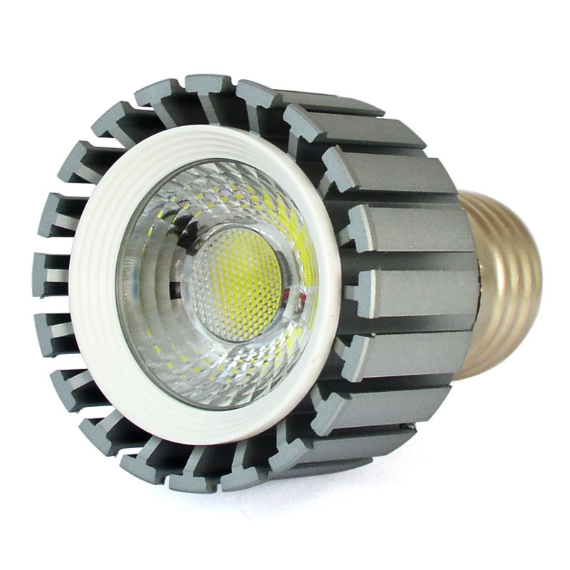 MENGS® E27 8W LED Dimmable Spotlight COB LED Lamp Blub in Warm White Energy-Saving Light