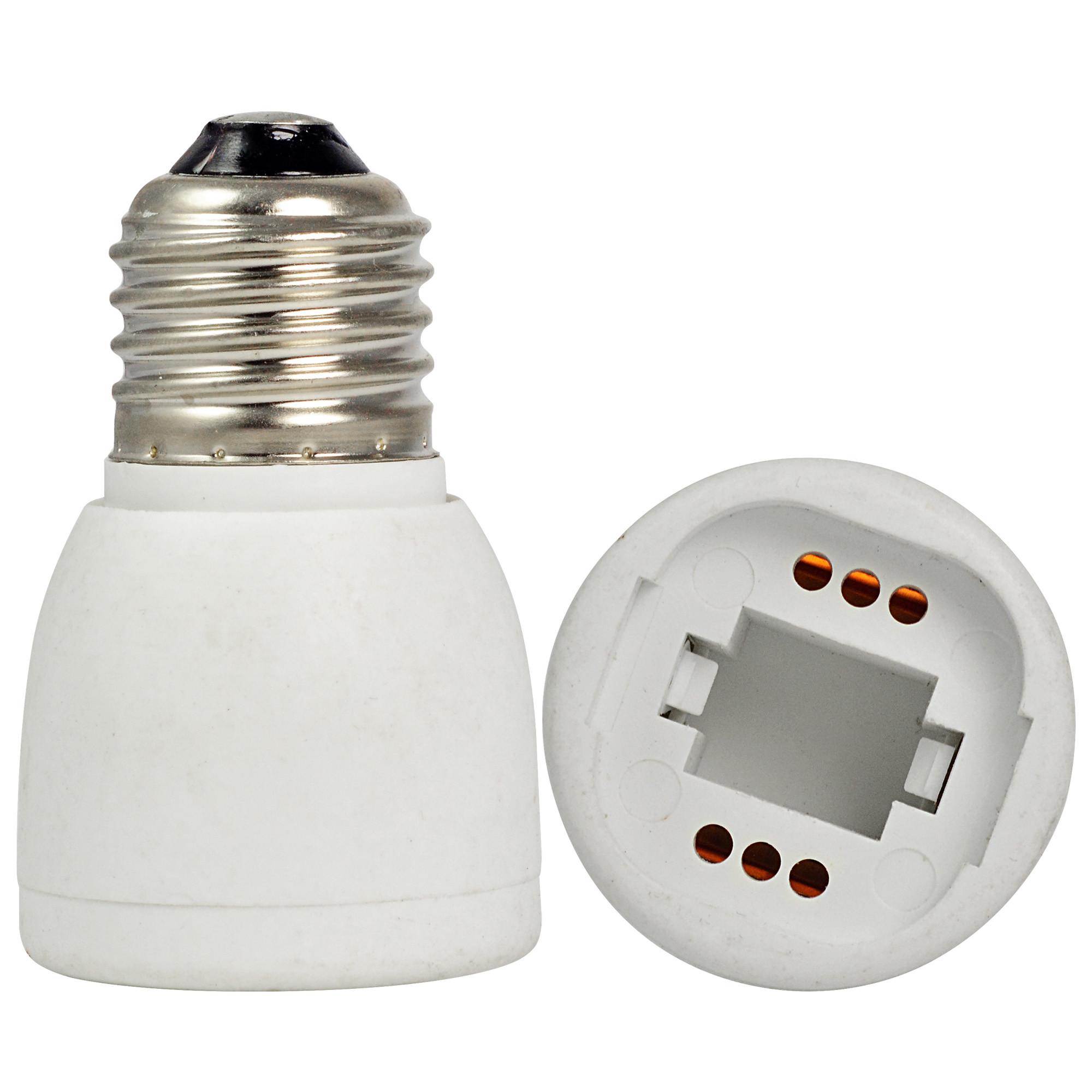 E27 To G24 LED Light Bulb Lamp Socket Adapter / Extender ...