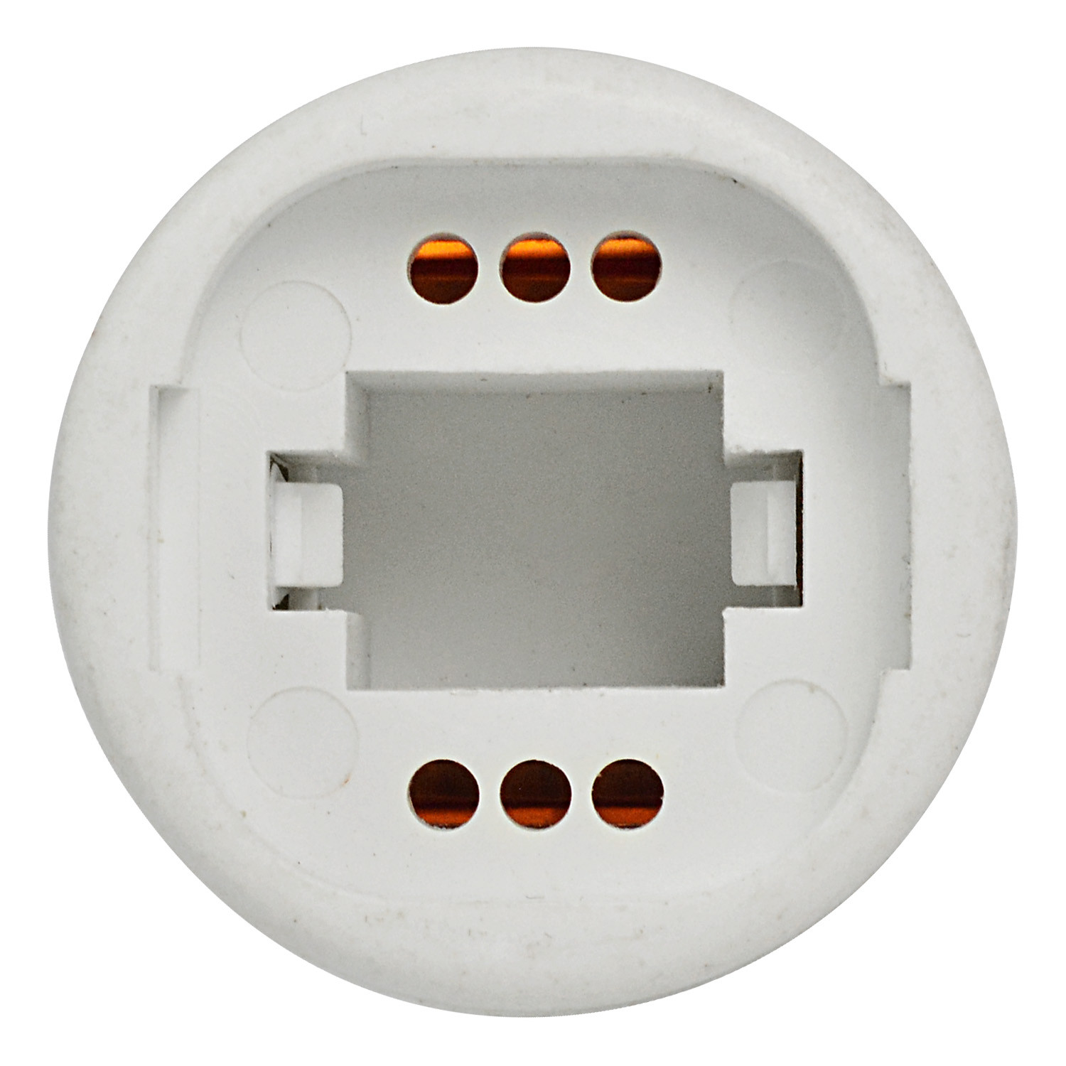 mengs e27 to g24 led light bulb lamp socket adapter extender holder