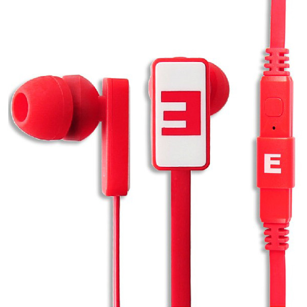 SOMIC® 3.5mm Earbuds Headset 1.2M Cable Stereo Earphone Headphone IS-R29 - Red