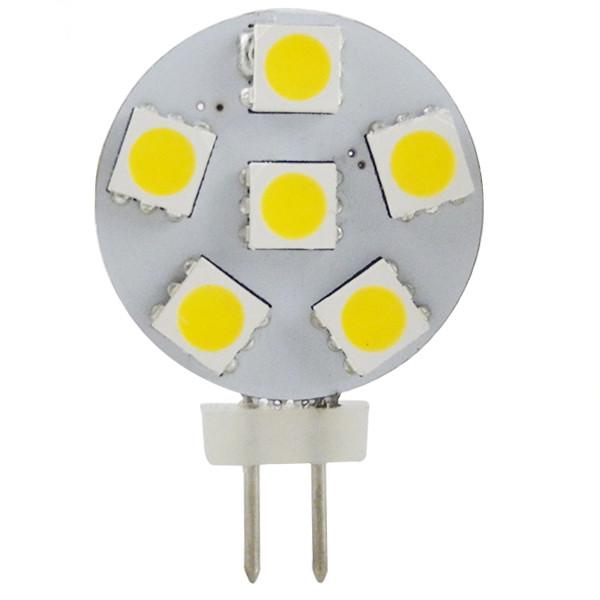 MENGS® G4 1W LED Light  6x 5050 SMD LEDs LED Lamp Bulb AC/DC 10-30V In Cool White Energy-saving Lamp