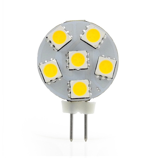 MENGS® G4 1W LED Light 6x 5050 SMD LEDs LED Bulb In Cool White Energy-Saving Lamp