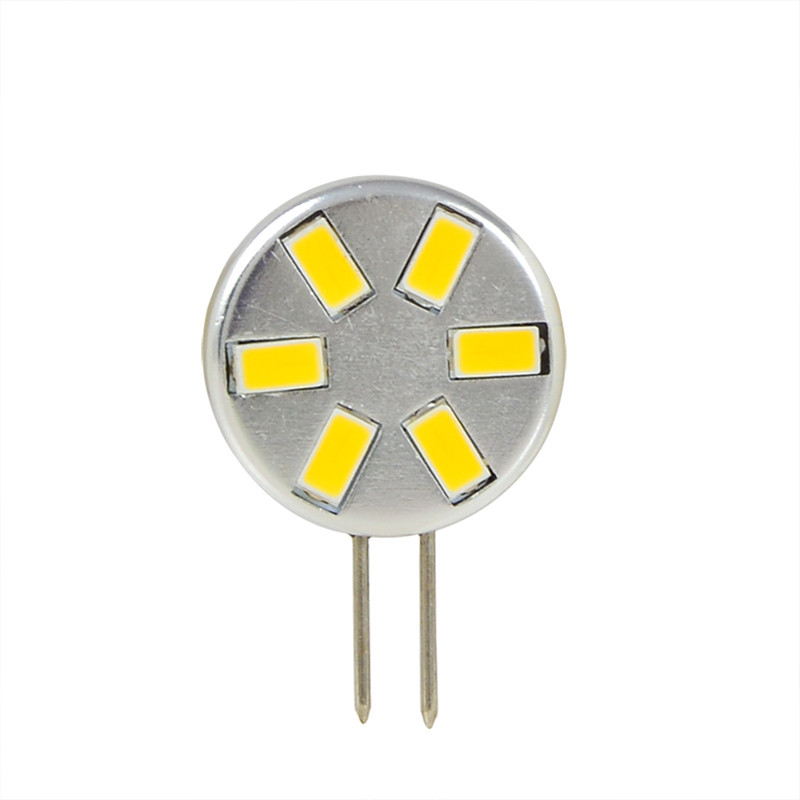 MENGS® G4 2W LED Light 6x 5730 SMD LEDs LED Lamp Bulb In Cool White Energy-Saving Light