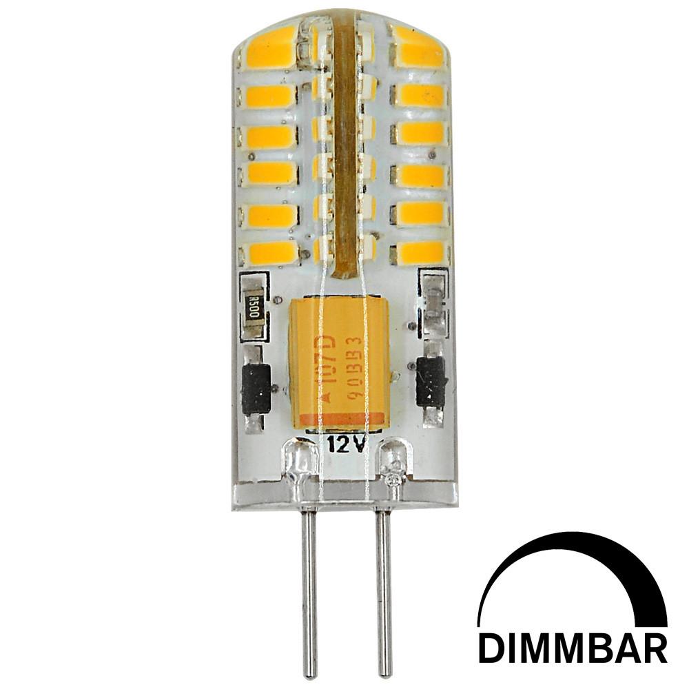 MENGS® G4 3W LED Dimmable Light 48x 3014 SMD LED Bulb Lamp DC 12V In Cool White Energy-Saving Light