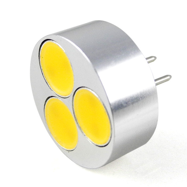 MENGS® G4 3W LED Light COB LEDs LED Lamp DC 12V In Cool White Energy-Saving Lamp