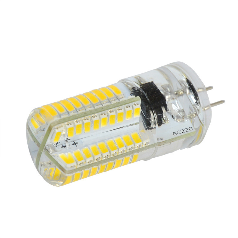 MENGS® G4 4W LED Dimmable Corn Light 80x 3014 SMD LEDs LED Lamp in Cool White Energy-Saving Lamp