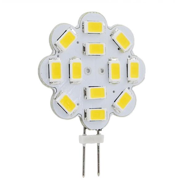 MENGS® G4 4W LED Light 12x 5730 SMD LEDs LED Bulb In Warm White Energy-Saving Lamp