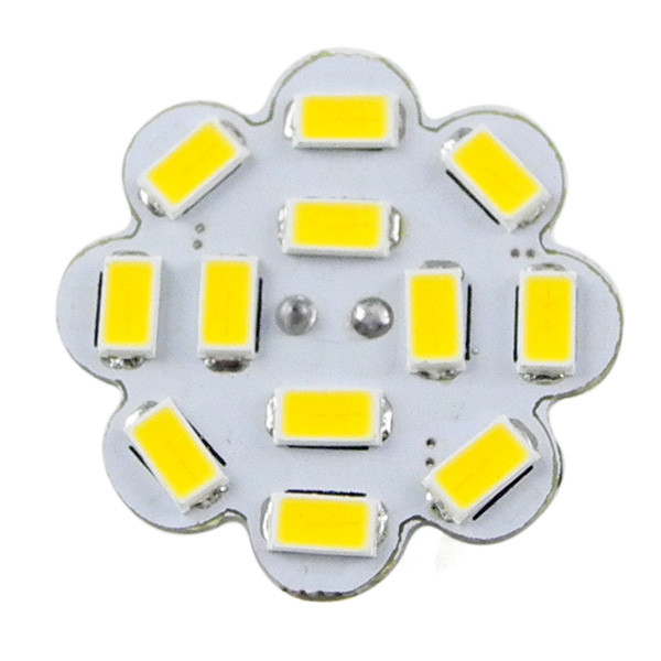 MENGS® G4 4W LED Light 12x 5730 SMD LEDs LED Lamp Bulb AC/DC 10-30V In Warm White Energy-saving Lamp