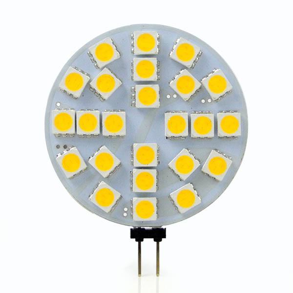 MENGS® G4 4W LED Light 24x 5050 SMD LEDs LED Bulb Lamp In Cool White Energy-saving Lamp