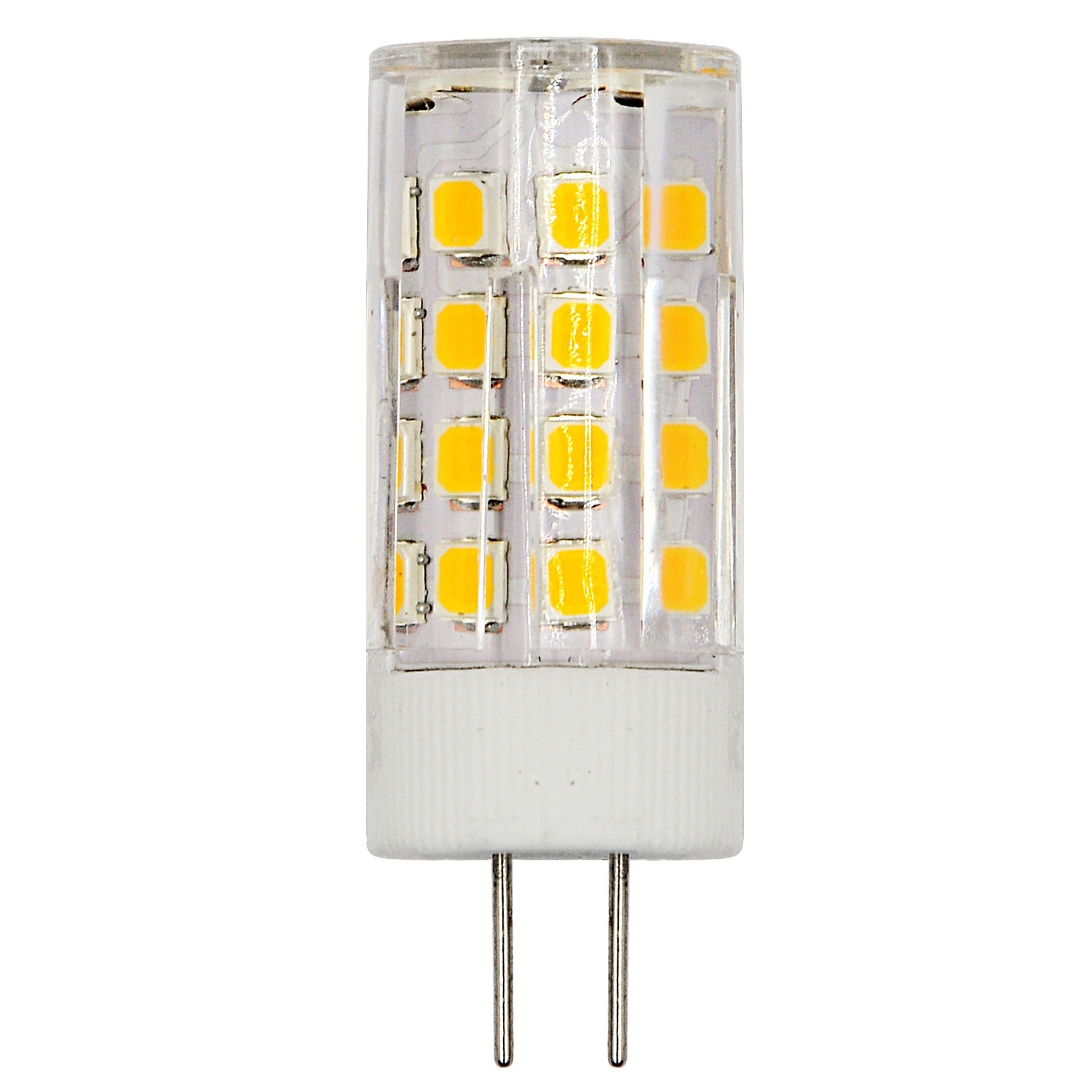 G4 4w Led Light 36x 2835 Smd Bulb Lamp Ac Dc 12v In Warm White Fluorescent Driver Mengs