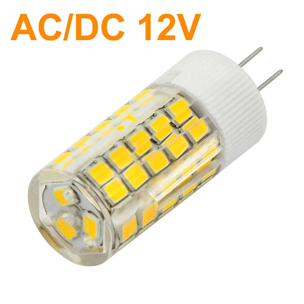 MENGS® G4 6W LED Light 63x 2835 SMD LEDs LED Bulb Lamp AC/DC 12V In Cool White Energy-Saving Light