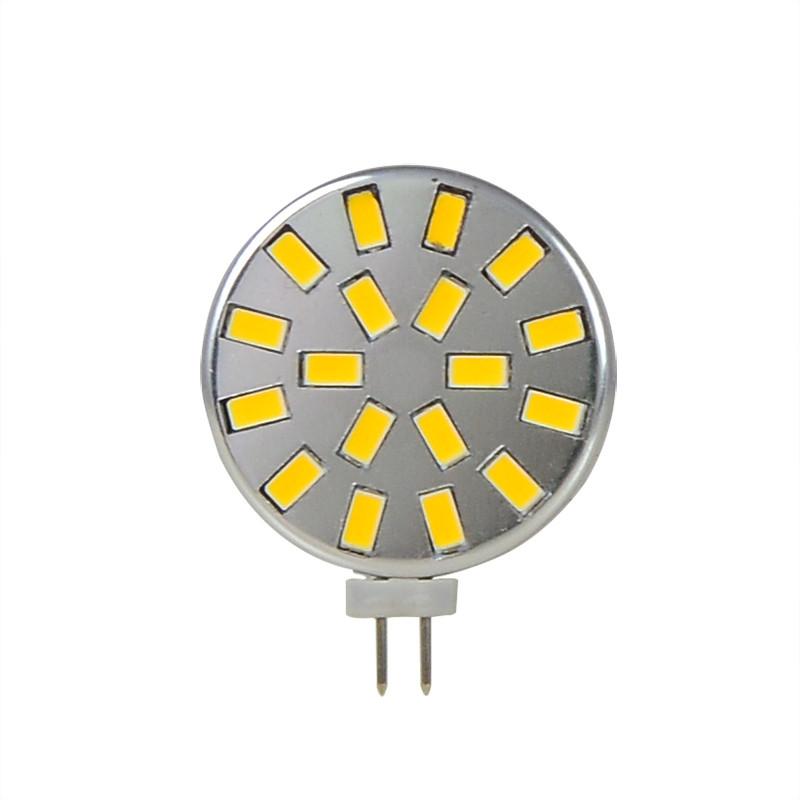 MENGS® G4 5W LED Light 18x 5730 SMD LEDs LED Lamp Bulb AC/DC 12V In Warm White Energy-Saving Light