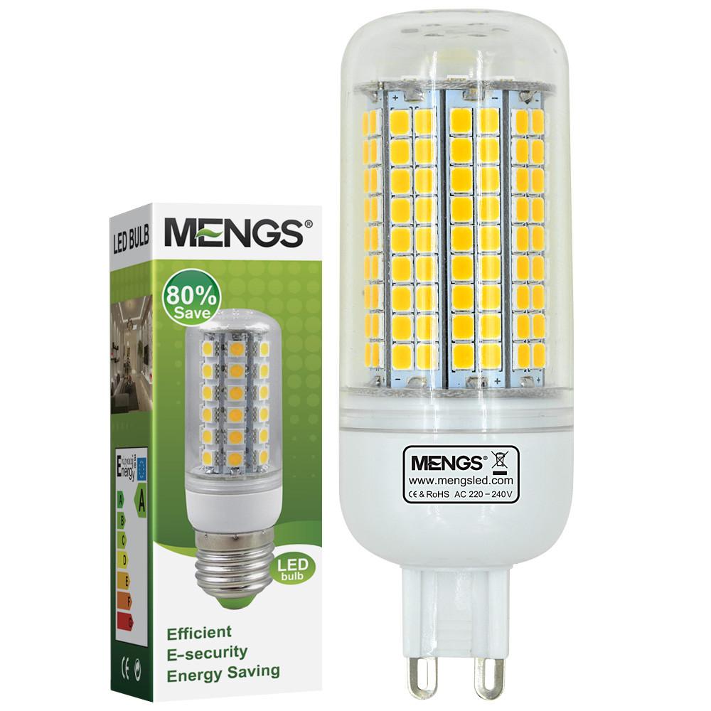 MENGS® G9 10W LED Corn Light 180x 2835 SMD LED Bulb Lamp in Warm White Energy-saving Light