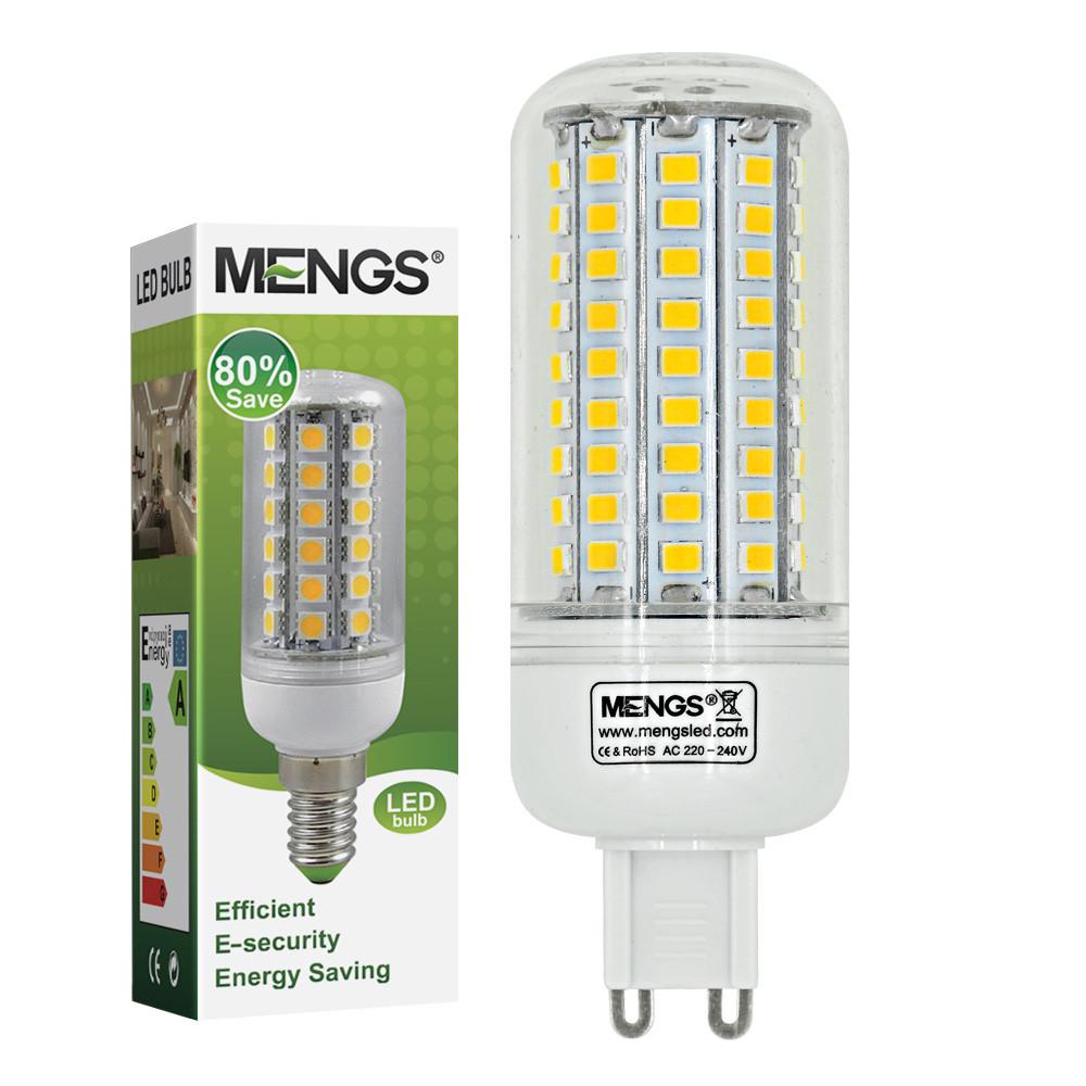 MENGS® G9 7W LED Corn Light 102x 2835 SMD LEDs LED Bulb AC 220V-240V In Warm White Energy-Saving Lamp