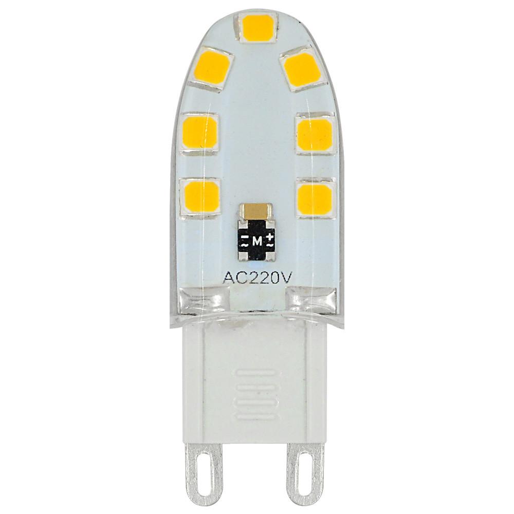 MENGS® G9 3W LED Light 14x 2835 SMD LED Bulb Lamp In Warm White Energy-Saving Light