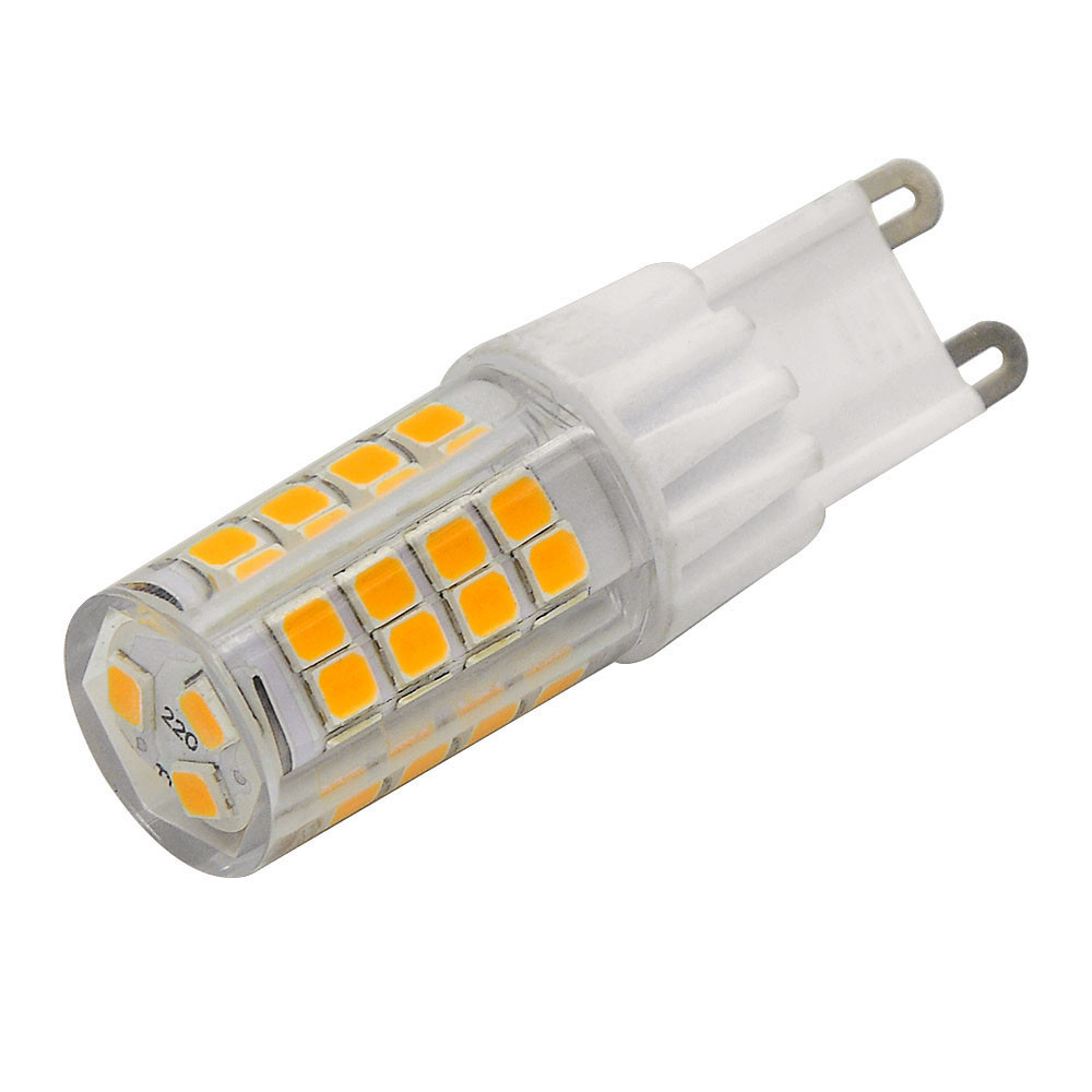 MENGS® G9 4.5W LED Light 51x 2835 SMD LED Lamp With Ceramic and ACRYLIC material In Cool White Energy-Saving Lamp