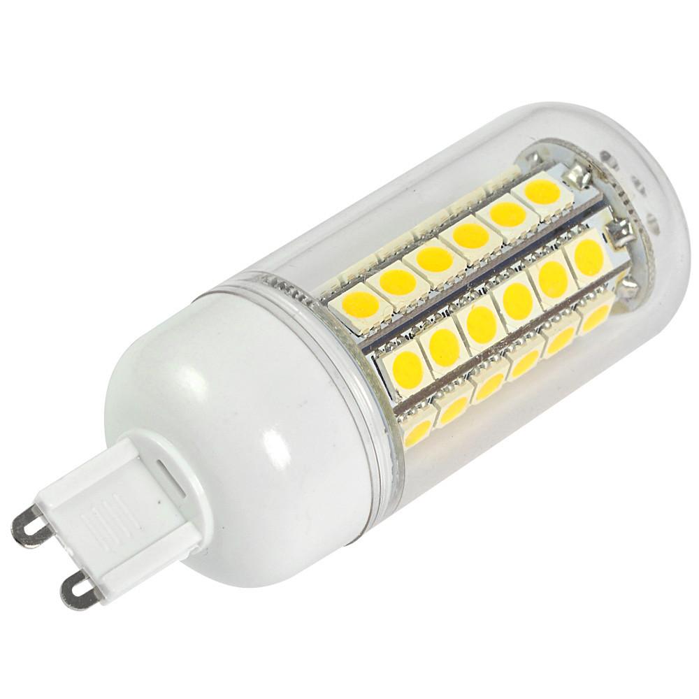 g9 7w led corn light 48x 5050 smd leds led bulb in warm white energy saving lamp led lights. Black Bedroom Furniture Sets. Home Design Ideas