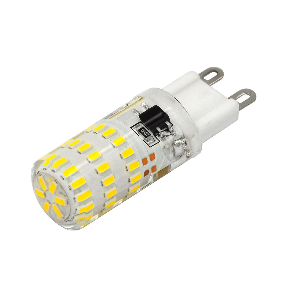 MENGS® G9 4W LED Light 45x 3014 SMD LEDs LED Bulb Lamp In Warm White Energy-Saving Lamp