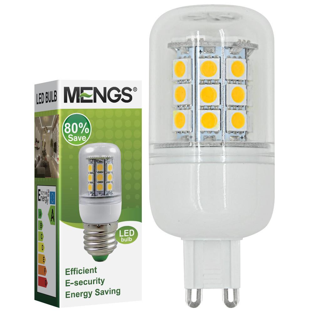 MENGS® G9 5W LED Corn Light 30x 5050 SMD LEDs LED Bulb In Cool White Energy-Saving Lamp