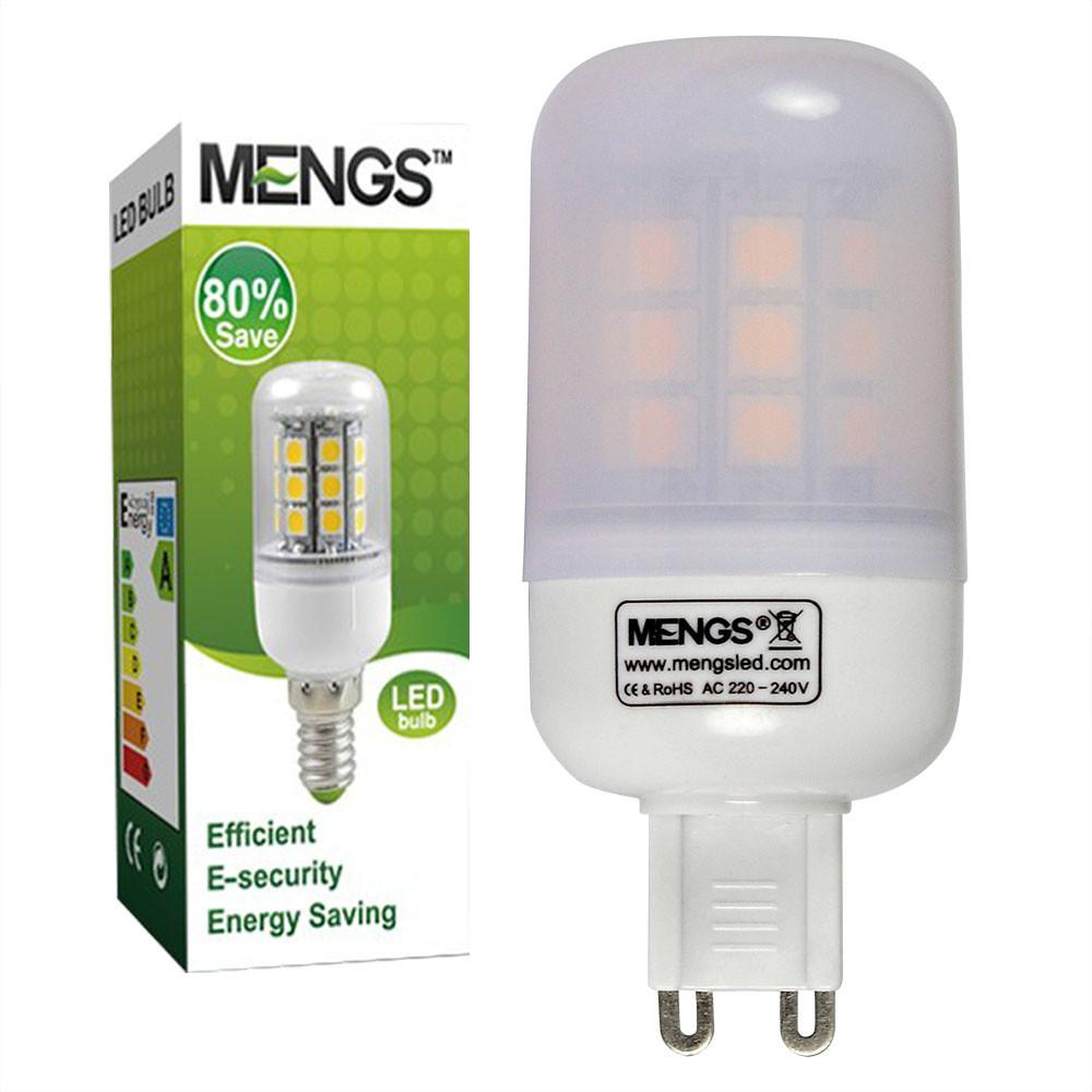 MENGS® G9 5W LED Corn Light 30x 5050 SMD LED Lamp Bulb in Warm White Energy-Saving Light