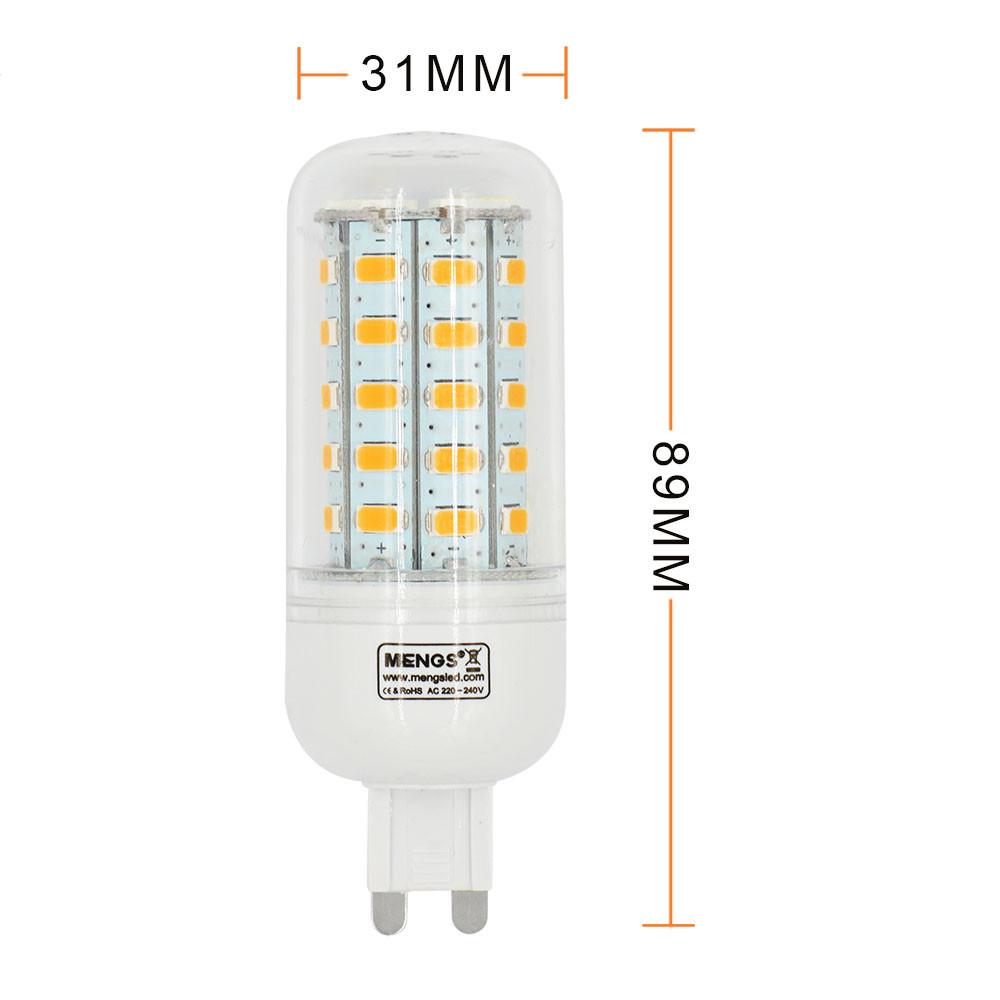 g9 5w led corn light 48x 5730 smd leds led bulb lamp in. Black Bedroom Furniture Sets. Home Design Ideas