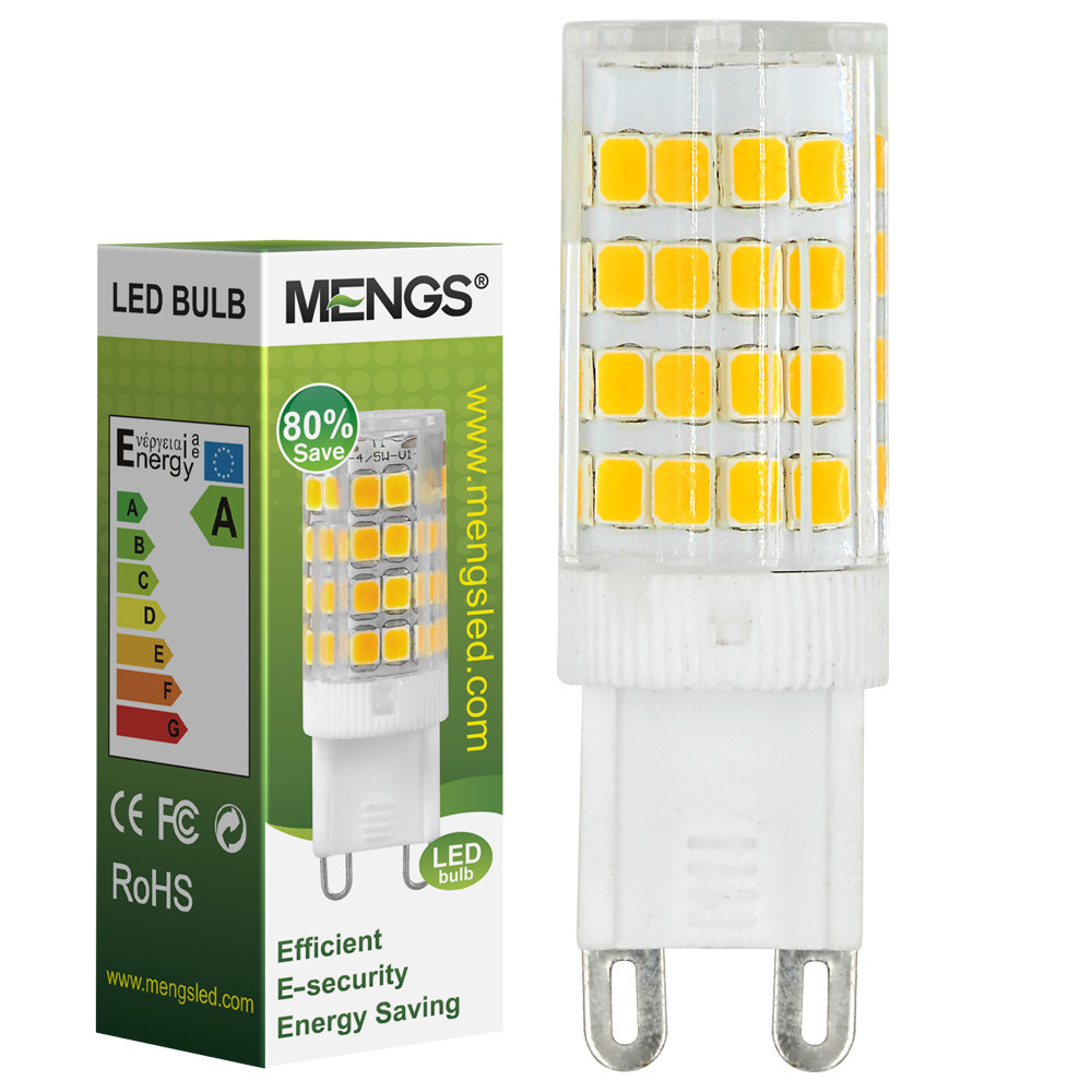 MENGS® G9 5W LED Corn Light 51x 2835 SMD LEDs LED Bulb Lamp in Warm White Energy-saving Lamp