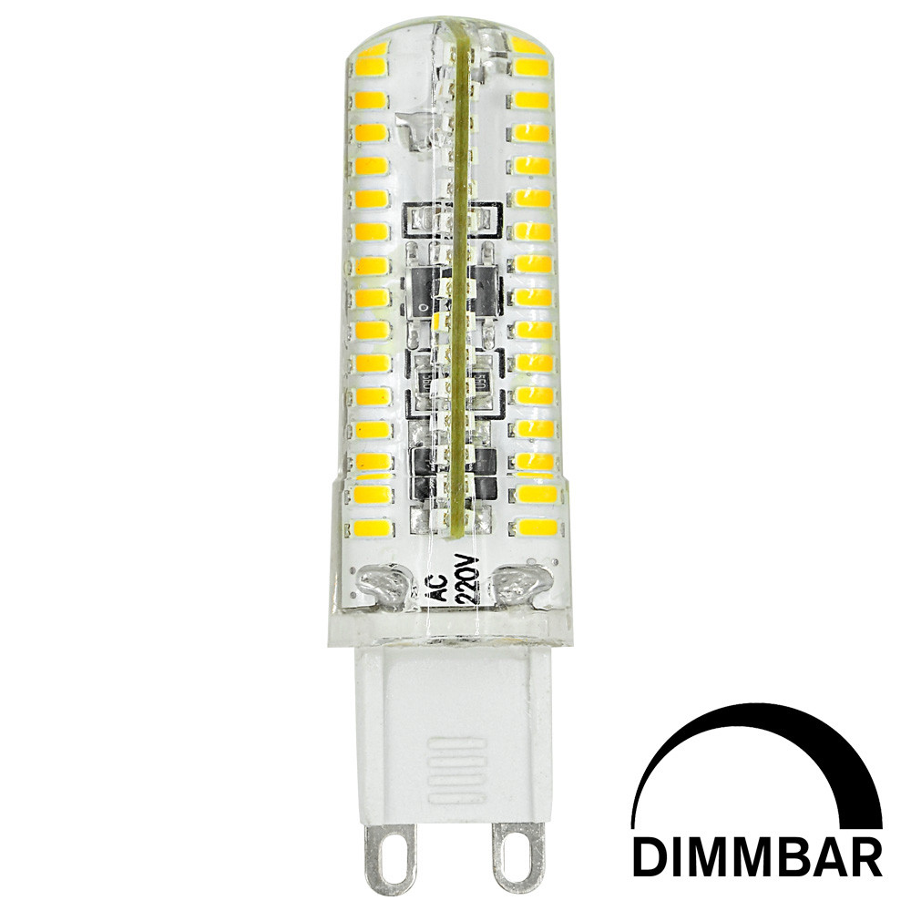 MENGS® G9 6W LED Dimmable Corn Light 120x 3014 SMD LEDs LED Lamp Bulb in Cool White Energy-Saving Light