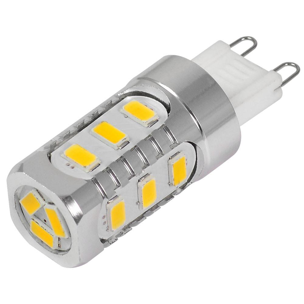 MENGS® G9 5W LED Light 15x 5730 SMD LED Lamp Bulb in Cool White Energy-Saving Light