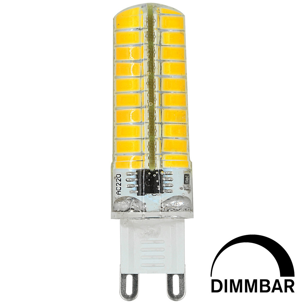 MENGS® G9 7W LED Dimmable Light 80x 5730 SMD LED Bulb Lamp In Cool White Energy-Saving Light
