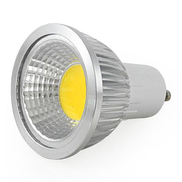 MENGS® GU10 3W LED Dimmable Spotlight COB LEDs LED Lamp Bulb in Cool White Energy-Saving Lamp